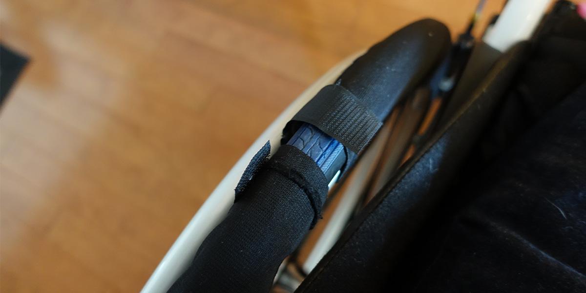 車椅子のタイヤカバー